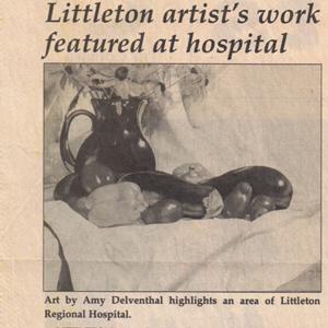 Littleton artist's work featured at hospital