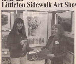 33rd Annual LIttleton Sidewalk Art Show Winners