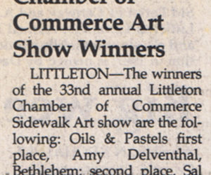 Chamber of Commerce Art Show Winners